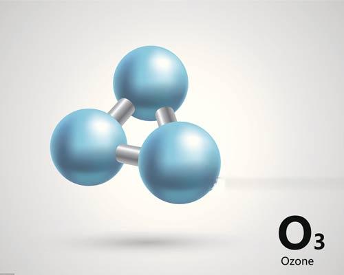 تصویر یک مولکول ازون