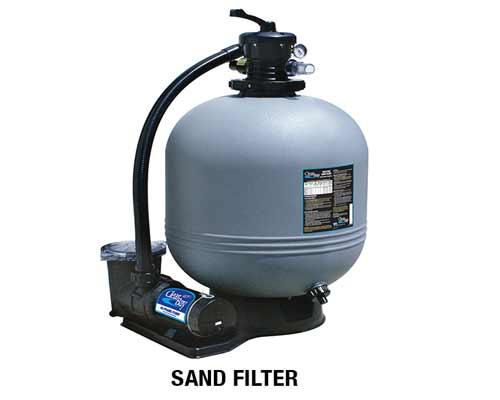 تصویر یک مدل فیلتر شنی