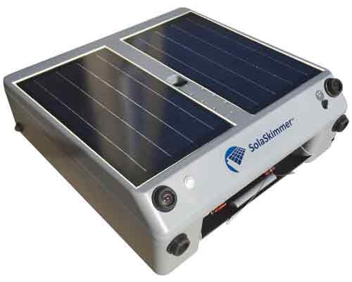 تصویری از یک مدل اسکیمر خورشیدی