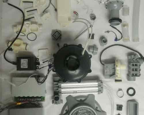 نمایی از تجهیزات یک بلوئر جکوزی