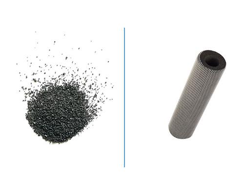 فیلتر های کربنی استفاده شده در دستگاه تصفیه آب