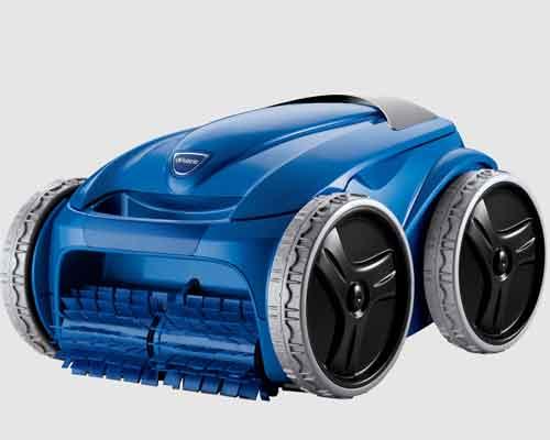 نمایی از یک مدل پاک کننده رباتیک